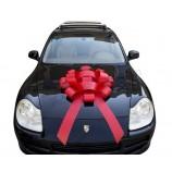 卸売価格のギフトパッキングおよび結婚式の使用赤い車の弓