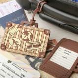 빈티지 가방 디자인 수하물 태그 호의 공장