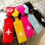 печать багажных бирок искусственная кожа багажная этикетка кулон