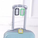 изготовленный на заказ пластичный ярлык перемещения перемещения чемодана перемещения бирки багажа