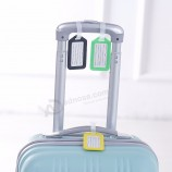 カスタムプラスチック荷物タグ旅行スーツケース旅行バッグラベル