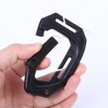 D 모양 200lb 플라스틱 스냅 클립 액세서리
