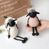 изготовленное на заказ овец shaun Key Car Key кольцо для подарка