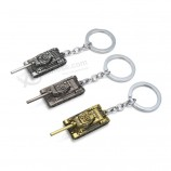Wot Game World of Tanks Keychain Alloy Metal Tank Model Pendent Keyring