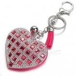 сердце женское полные стеклянные бусины брелки на заказ