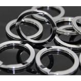 нержавеющая сталь железо круглый металлический брелок производитель