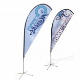 2020 New brand custom feather flag signs stands