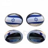 26 * 28см спандекс и полиэстер мини-израильский флаг зеркало автомобиля