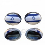 26 * 28cm 스판덱스 & 폴리 에스테 소형 이스라엘 차 거울 깃발
