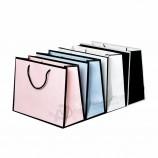 Оптовая мода на заказ бутик одежды покупки подарочная упаковка с покрытием бумажный мешок