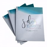 china custom cheap printing service softcover book, flyer , booklet, brochure, catalog printing