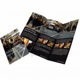 china offset printing custom brochures,flyer, booklet printing