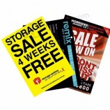 105gsm 128gsm 157gsm A3 A4 A5 DL cheap leaflets brochures posters flyers printing service