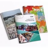 광택 트라이-폴드 브로셔, 잡지, 전단지, 책 인쇄