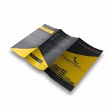 wholesale custom high quality A3 A4 A5 size advertising promotional color folded flyer , booklet, brochure, leaflet printing