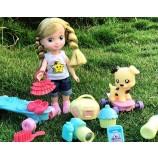 ごみ女の子は3歳の女の子のためのプレイセットを装う4 5 6 7歳の子供たちの家の人形の家のプレイセットのおもちゃ