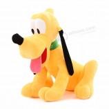 оптовая пользовательские высокое качество мягкая плюшевая собака кукла плутон