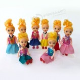 甘い女の子のためのおかしい4インチの赤ちゃん人形のおもちゃの卸売