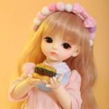 shugofairy BJD SD人形IVY 1/6 yosdボディモデルの赤ちゃんの女の子の男の子の人形のおもちゃの友人のサプライズギフト男の子の女の子