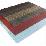 プロモーションカスタム印刷されたロゴ環境にやさしい卸売格安ホット販売塩ビプレースマット