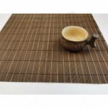 도매 천연 비 독성 대나무 롤링 식탁 깔개 테이블 매트 WL-B-1916
