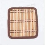 新しいスタイルの中国卸売竹ダイニングランチョンマットテーブルマット