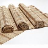 도매 저렴한 친환경 레스토랑 대나무 식탁 깔개 테이블 매트