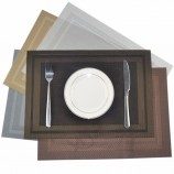 crossweave 짠 비 슬립 절연 식품 잡기 아기 placemats 대나무 흡입