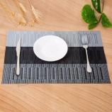 新しいデザインのPVC織竹テーブルプレースマット