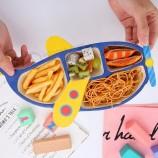 竹繊維生分解性食器子供カトラリーセット漫画食器セット