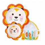 卸売竹繊維食器セット赤ちゃん食器セット子供のための竹繊維食器セット