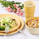 наборы столовой посуды из бамбукового волокна бамбуковые тарелки из бамбука набор посуды для детей наборы п