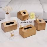 로고를 가진 주문 정연한 공상 직사각형 냅킨 조직 상자