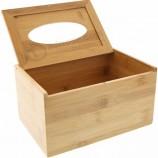 環境に優しい竹ティッシュボックスナプキンボックス