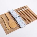 ホット販売簡単操作DIY自家製寿司竹ローリングマットセット寿司メーカーセット