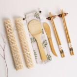бамбуковый набор для суши, ролл и набор палочек для еды оптом