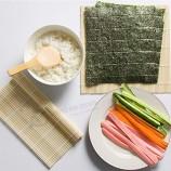 일본 음식 매트 DIY 초밥 도구 대나무 초밥 메이커