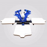 шелкография трафаретная печать трафаретная печатная машина подходит для малых предприятий