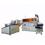 автоматическая печатная машина шелковой ширмы бутылки 360 градусов автоматическая 360 градусов с рамкой и UV си