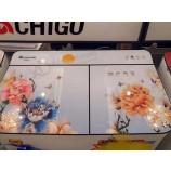 Большая реклама УФ планшетный принтер ПВХ многоцветный 3d печатная машина цена