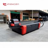 高速UVデジタルファブリック印刷機7色ガラススプラッシュバックUVフラットベッドプリンター