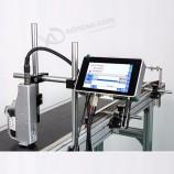 промышленный струйный принтер с сенсорным экраном, автоматический спрей, термический срок годности, кодиров