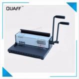 중국 공급 업체 더블 핸들 조절 책 바인딩 기계 / 바인딩 기계 사무실 및 학교