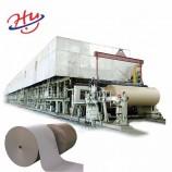 原材料クラフトカートンクラフトテストラインプレート紙板製造機となる古紙で作られた30 TPD