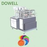 빠른 속도 제조 자동 일회용 접시 제조 기계 가격 중국 종이 접시 기계
