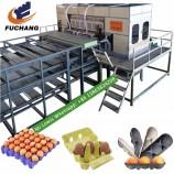 新しい卵箱/卵トレイ製造機/全自動紙製版機