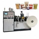중국 반 종이 자동 친교 컵 및 바닥 인쇄 코일 성형 플레이트 씰링 절단 기계 가격 인도