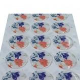 熱い販売の習慣はギフトの装飾のための3mドーム型エポキシステッカーを印刷しました