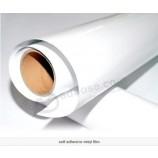 Ярко-белая ПВХ самоклеящаяся наклейка для эко-сольвентной печати