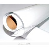 Eco 용매 인쇄를위한 밝은 백색 PVC 자동 접착 스티커